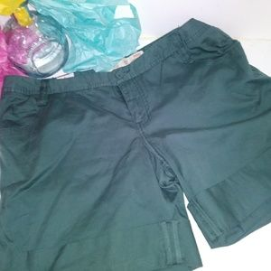 NWT- Mossimo olive green shorts-17